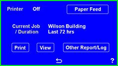 Print/Report Screen